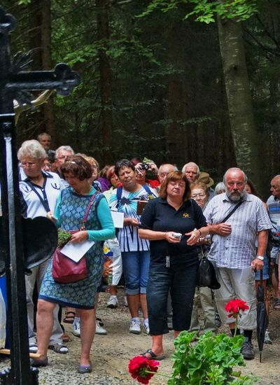 Křížek uHauswaldské kaple