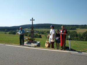 Oprava křížku u Nicova